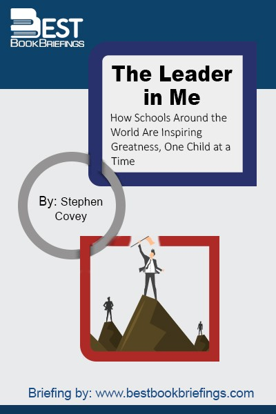 Perfect for individuals and corporations alike, The Leader in Me shows how easy it is to incorporate these skills into daily life. It is a timely answer to many of the challenges facing today's young people, businesses, parents, and educators—one that is perfectly matched to the growing demands of our certain future.