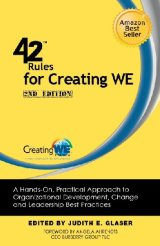 In this leadership book, 42 Rules for Creating WE offers new insights from thought leaders in neuroscience, organizational development, and brand strategy, introducing groundbreaking practices for bringing the spirit of WE to any organization, team or cause.