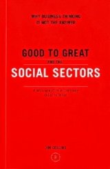 "The idea that the path from good to great in the social sectors is to become ""more like a business"" is dead wrong. Great companies make a prosperous society, but not a great society for economic growth and power are the means, not the end, of a great nation. Few businesses"