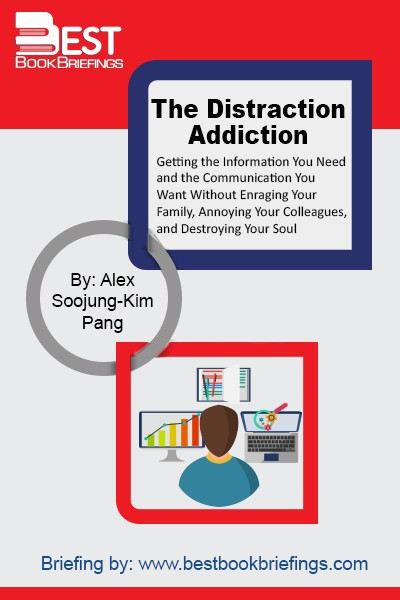 The Distraction Addiction is packed with fascinating studies, compelling research, and crucial takeaways. Whether it's breathing while Facebook refreshes (most of us don't) or finding innovative approaches for reclaiming a few hours from the digital crush, this book is about the ways to tune in without tuning out. It is a