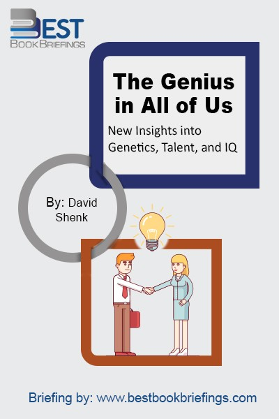 "With irresistibly persuasive vigor, David Shenk debunks the long-standing notion of genetic ""giftedness,"" and presents dazzling new scientific research showing how greatness is in the reach of every individual.  DNA does not make us who we are. ""Forget everything you think you know about genes, talent, and intelligence,"" he writes."