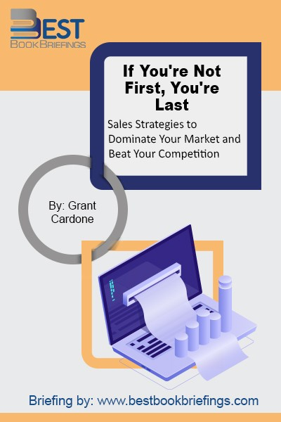 If You're Not First, You're Last is about how to sell your products and services—despite the economy—and provides the reader with ways to capitalize regardless of their product, service, or idea. Grant shares his proven strategies that will allow you to not just continue to sell, but create new products, increase margins,