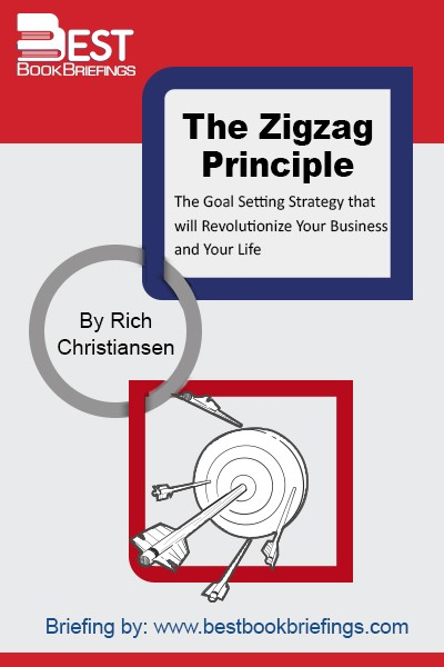 The Zigzag Principle has its roots in the laws of nature, with evidences everywhere we look. Rivers don't flow in a straight line from mountain springs to the ocean. They twist and turn as they adapt to the obstacles that impede their flow. Mountain peaks are formed by the violent acts