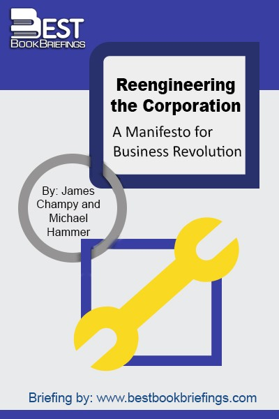 When someone asks us for a quick definition of business reengineering, we say that it means starting over. It doesn't mean tinkering with what already exists or making incremental changes that leave basic structures intact. It isn't about making patchwork fixes—jury-rigging existing systems so that they work better. It does mean