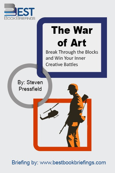 What keeps so many of us from doing what we long to do? Why is there a naysayer within? How can we avoid the roadblocks of any creative endeavor—be it starting up a dream business venture, writing a novel, or painting a masterpiece? The War of Art identifies the enemy that every one