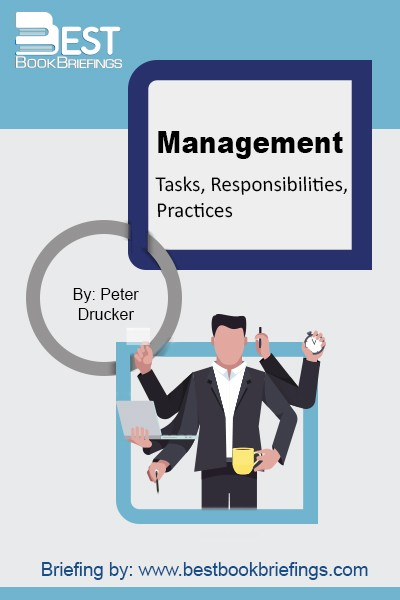 "Written by Peter F. Drucker, ""the"" best management guru, writer, speaker, and consultant to ever live, it lays all the basics of what management is, how it should be carried out, and in which direction should it be heading. This reference book is an excellent source for any aspiring manager, whether"
