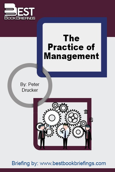 Since the first edition of this book in 1954, it was considered as the first book to give a big picture of management and a typical road map to view the modern business. It created the main principles, concepts, and facts about modern management practices.  Although this book was written more than