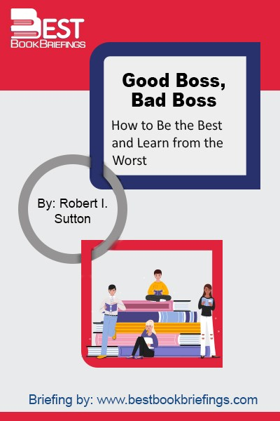 If you are a boss who wants to do great work, what can you do about it? Good Boss, Bad Boss is devoted to answering that question. Stanford Professor Robert Sutton weaves together the best psychological and management research with compelling stories and cases to reveal the mindset and moves of the best