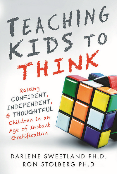 In Teaching Kids to Think, Dr. Darlene Sweetland and Dr. Ron Stolberg offer insight into the social, emotional, and neurological challenges unique to this generation. They identify the five parent traps that cause adults to unknowingly increase their children's need for instant gratification, and offer practical tips and easy-to-implement solutions to