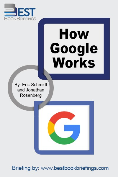In an era when everything is speeding up, the best way for businesses to succeed is to attract smart-creative people and give them an environment where they can thrive at scale. HOW GOOGLE WORKS is a book that explains how to do just that.