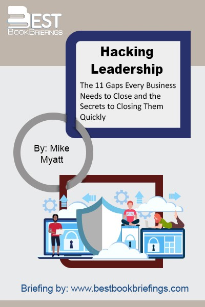 Everyone has blind spots. The purpose of Hacking Leadership is to equip leaders at every level with an actionable framework to identify blind spots and close leadership gaps. The bulk of the book is based on actionable, topical leadership and management hacks to bridge eleven gaps every business needs to cross