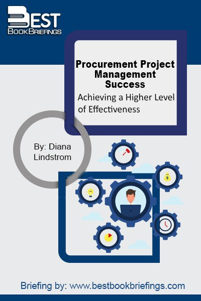 Based on the author's real world experience during the course of her career in supply management, and engineering as a project management professional, this unique guide demonstrates a practical and proven approach to using project management strategies, tools and techniques to consistently create successful procurements that go beyond cost savings. Procurement