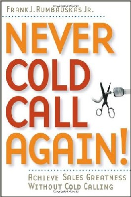 By dictionary definition, a cold call is a telephone call or visit made to someone you don't know who is not expecting a contact, often for the reason of selling a product or service. In plain English, that means a cold call is often nothing more than an interruption on peoples'