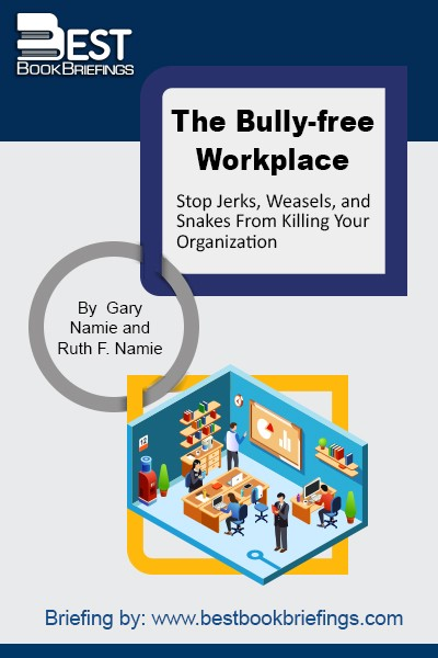 The Bully-Free Workplace delivers a thoughtful and detailed plan to stop weasels, jerks, and snakes from killing your organization. Written by pioneers of workplace bullying, Drs. Gary & Ruth Namie, this book tells you why and how to create an explicit policy against bullying. It appeals to those managers who value