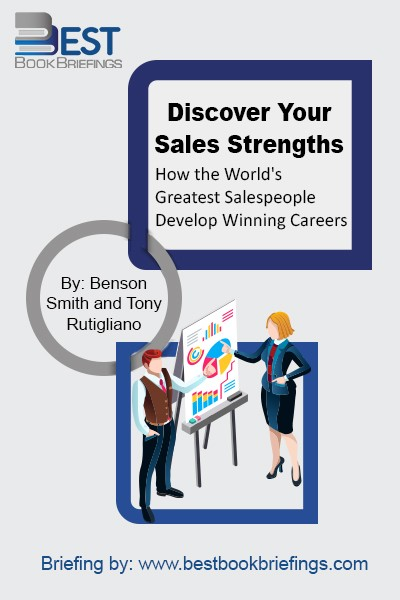 Two effectiveness experts from The Gallup Organization use the latest statistics to debunk the most pervasive myths about sales and to determine that there is no one formula for success, and that training, knowledge and experience cannot make a great salesperson. They help salespeople understand themselves and their top sales talents