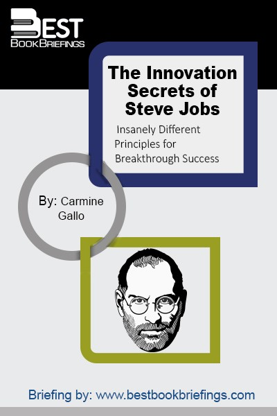 A  THINK DIFFERENT  APPROACH TO INNOVATION-Based on the Seven Guiding Principles of Apple CEO Steve Jobs In his acclaimed bestseller The Presentation Secrets of Steve Jobs author Carmine Gallo laid out a simple step-by-step program of powerful tools and proven techniques inspired by Steve Jobs's legendary presentations. Now, he shares the