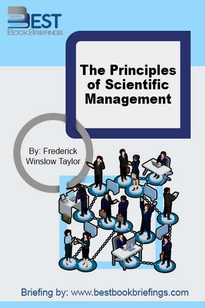 This landmark book not only influenced positively many major manufacturing companies across the globe, but it also set grounds for the first business degree offered by Harvard University back then around 1910. In the book, Taylor simply laid out the fundamentals of scientific management, followed by the principles. He confronted the