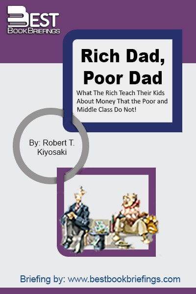 The book is a story of Robert Kiyosaki, the author and narrator, who has two dads: the biological father (the poor one), and the other dad who was the father of his close childhood friend. Both dads taught the author how to achieve success but from different perspectives, and throughout the