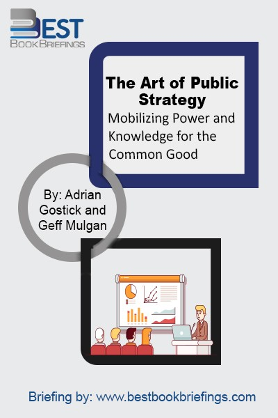 The strategies adopted by governments and public officials can have dramatic effects on people' live. Packed with examples, and shaped by the author's practical experience, the book shows that governments which give more weight to the long-term are not only more likely to leave their citizens richer, healthier, and safer; they're