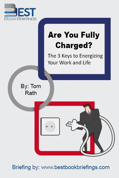 Are You Fully Charged? reveals the keys that matter most for our daily well-being, as well as our engagement in our work. Drawing on the latest and most practical research from business, psychology, and economics. This book focuses on changes we can make to create better days for ourselves and others.