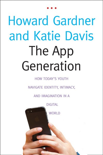 Young people growing up in our time are not only immersed in apps: they've come to think of the world as an ensemble of apps, to see their lives as a string of ordered apps, or perhaps, in many cases, a single, extended, cradle-to-grave app. (We've labeled this overarching app a