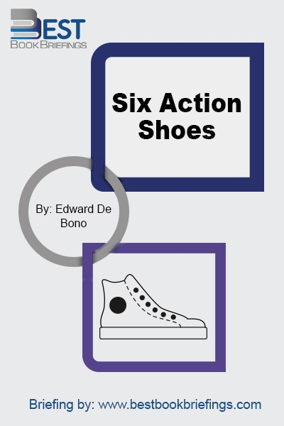 Six Action Shoes is written by the world-renowned expert on creative thinking and author of the best-selling Six Thinking Hats and Tactics. Six Action Shoes provides a brilliant method of taking control of any business or life situation. No one can be 'perfect' in all situations, but everyone can gain from