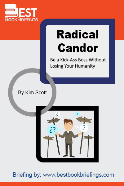 Radical Candor is a simple idea: to be a good boss, you have to Care Personally at the same time that you Challenge Directly. When you challenge without caring it's obnoxious aggression; when you care without challenging it's ruinous empathy. When you do neither it's manipulative insincerity.   This simple framework can help