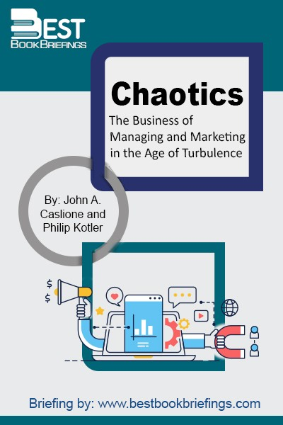 """Chaotics"" provides business leaders with the system and tools to successfully navigate through the uncertain waters that will continue to confront all of their businesses in this new era ""The Age of Turbulence"". The fact is that we are entering a new age of turbulence. But what is turbulence? We know"