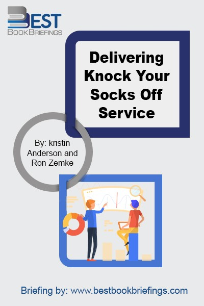 Delivering Knock-Your-Socks-Off Service means creating a positive, memorable experience for every customer, exceeding expectations, and satisfying needs in such a way that you're seen as easy to do business with. It means looking for opportunities to wow and delight your customer in unique and unexpected ways. The customer who experiences all
