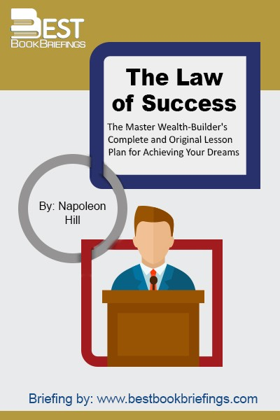 "The Law of Success is considered a classical book for its core is how to attain success, the ultimate goal of humanity ever since its creation, through applying fifteen principles. These principles help man harness his powers, overcome his weaknesses, and channel his talents toward a ""definite chief aim"". Ever since"