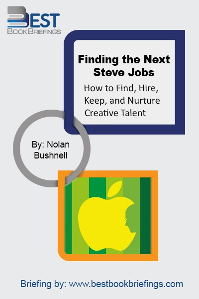 Nolan Bushnell founded the groundbreaking gaming company Atari and two dozen other companies. He also launched Steve Jobs' career, along with those of many other brilliant creatives over the course of his five decades in business. In his eagerly awaited first book, Bushnell explains how to find, hire, and nurture the