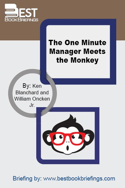 The One Minute Manager's symbol—a one-minute readout from the face of a modern digital watch—is intended to remind each of us to take a minute out of our day to look into the faces of the people we manage. And to realize that they are our most important resources. The Monkey