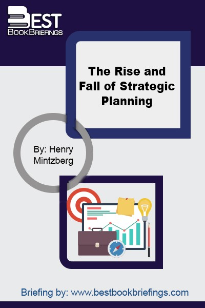 In this definitive and revealing history, Henry Mintzberg, the iconoclastic former president of the Strategic Management Society, unmasks the press that has mesmerized so many organizations since 1965: strategic planning. One of our most brilliant and original management thinkers, Mintzberg concludes that the term is an oxymoron—that strategy cannot be planned