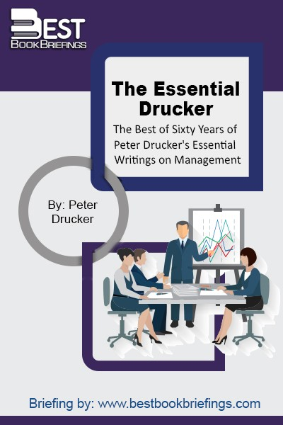 Containing twenty-six selections, The Essential Drucker covers the basic principles and concerns of management and its problems, challenges, and opportunities, giving managers, executives, and professionals the tools to perform the tasks that the economy and society of tomorrow will demand of them.
