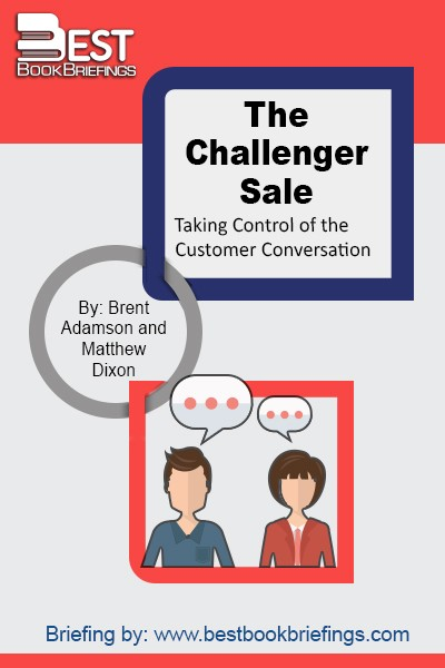 Based on an exhaustive study of thousands of sales reps across multiple industries and geographies, The Challenger Sale argues that classic relationship building is a losing approach, especially when it comes to selling complex, large-scale business-to-business solutions. The authors' study found that every sales rep in the world falls into one of five