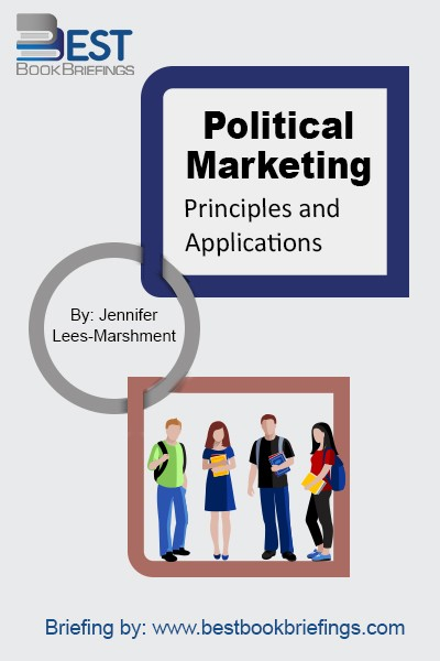 Political marketing is about how political elites use marketing tools and concepts to understand, respond to, involve and communicate with their political market in order to achieve their goals. These goals can include–in addition to getting votes to be elected–creating more understanding of a complex policy, passing legislation, and winning control
