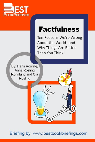 In Factfulness, Professor of International Health and global TED phenomenon Hans Rosling, together with his two long-time collaborators, Anna and Ola, offers a radical new explanation of why this happens. They reveal the ten instincts that distort our perspective-from our tendency to divide the world into two camps (usually some version