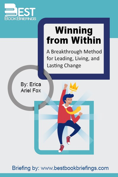 Winning from Within combines insights from Western psychology and Eastern philosophy with practical applications from real business situations and everyday life. Fox shows that the ability to achieve mastery over how we interact with each other comes from within, from the  center  where desires, thoughts, feelings, and impulses to take action