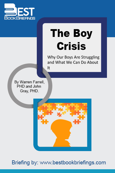 What is the boy crisis?  It's a crisis of education. Worldwide, boys are 50 percent less likely than girls to meet basic proficiency in reading, math, and science.  It's a crisis of mental health. ADHD is on the rise. And as boys become young men, their suicide rates go from equal to girls