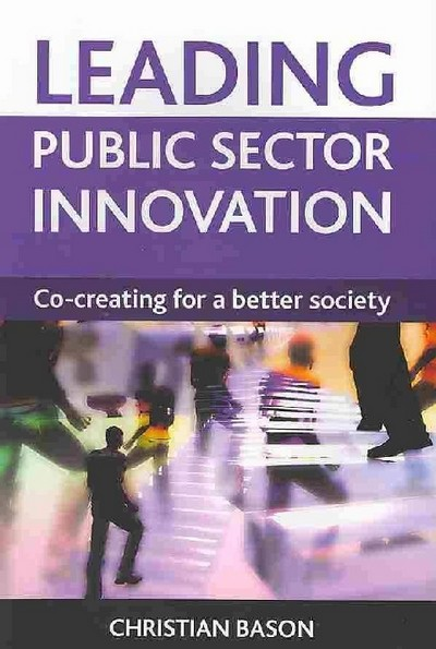 In a time of unprecedented turbulence, how can public sector organisations increase their ability to find innovative solutions to society's problems?  Leading Public Sector Innovation  shows how government agencies can use co-creation to overcome barriers and deliver more value, at lower cost, to citizens and business. Through inspiring global case studies