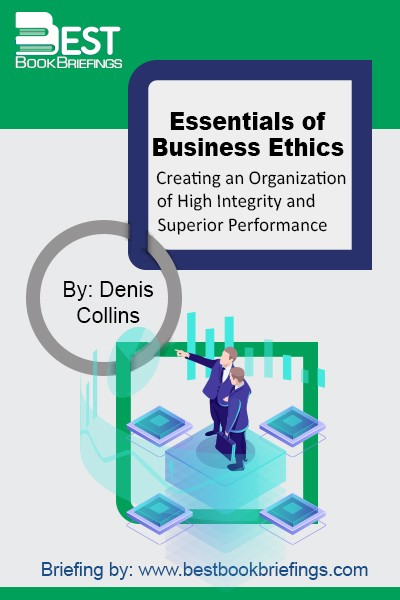 Organizations of high integrity achieve superior performance because they attract and retain high-quality employees, customers, suppliers and investors. Creating organizations of high integrity takes time and effort. This does not happen automatically, because human beings are not morally perfect. Unethical employees, customers, suppliers and investors can prevent organizations from achieving high