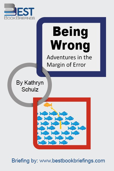 In our collective imagination, error is associated not just with shame and stupidity but also with ignorance, indolence, psychopathology, and moral degeneracy. Of all the things we are wrong about, this idea of error might well top the list. It is our meta-mistake: we are wrong about what it means to