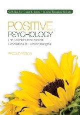 "Positive psychology is the study of what Robert F. Kennedy calls, ""the things in life that make it worthwhile."" In this regard, however, imagine that someone offered to help you understand human beings but in doing so, would teach you only about their weaknesses. As far-fetched as this sounds, a similar"