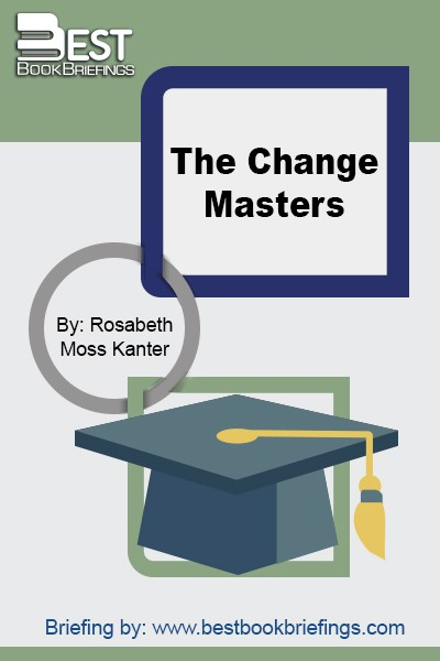 In 1983, Dr. Rosabeth Moss Kanterwrote The Change Masters, a practical book which had a major impact on the conduct of American business and management.Sheargued that American business was facing an unfavorable economic and social environment and in dire need of an  American corporate Renaissance. In executive suites throughout America, The Change