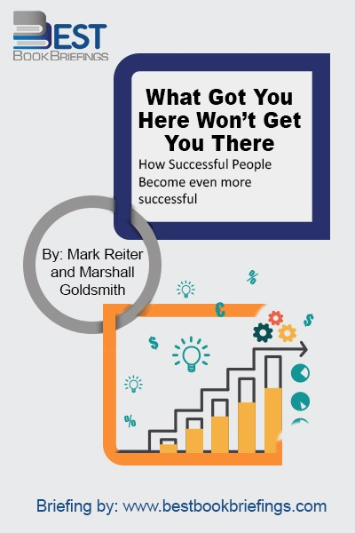 The corporate world is filled with men and women who have worked hard to reach upper level management. They're intelligent, skilled, and even charismatic. But only a handful of them will ever reach the pinnacle -- and as executive coach Marshall Goldsmith shows in this book, subtle nuances make all the