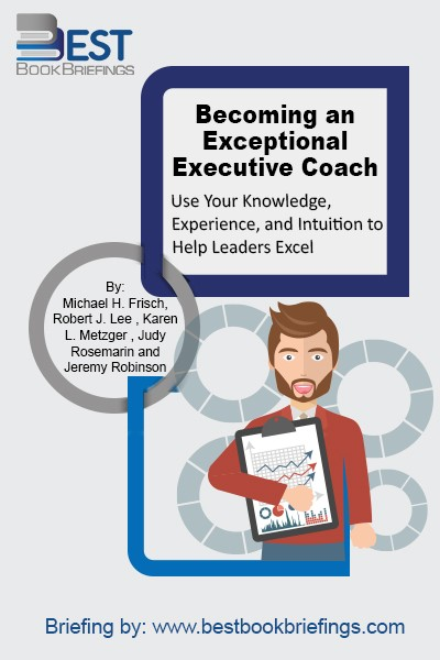 Becoming an Exceptional Executive Coach  is the first book that brings all of these elements together to guide readers in developing their own personal model of coaching. The book begins with the foundation for executive coaching: definitions, competencies, and topics. Readers will examine the core content areas crucial in any coach's