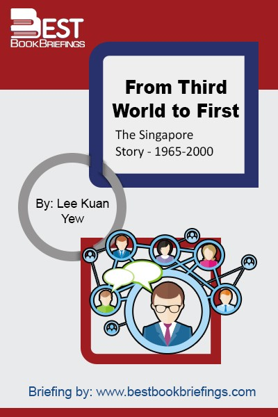 The story of Singapore's transformation is told here by Singapore's charismatic, controversial founding father, Lee Kuan Yew. Rising from a legacy of divisive colonialism, the devastation of the Second World War, and general poverty and disorder following the withdrawal of foreign forces, Singapore now is hailed as a city of the