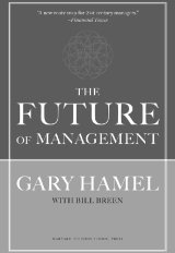 In The Future of Management, Gary Hamel argues that organizations need management innovation now more than ever. Why? The management paradigm of the last century—centered on control and efficiency—no longer suffices in a world where adaptability and creativity drive business success. To thrive in the future, companies must reinvent management.