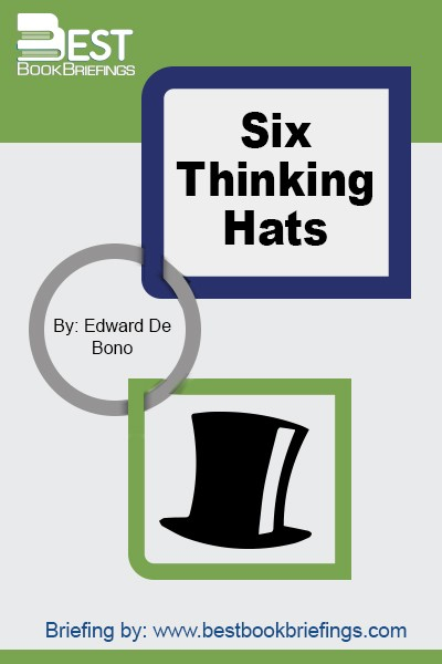 The multi-million bestseller Six Thinking Hats by Edward de Bono was first published in 1981. He is author of Lateral Thinking and I Am Right You Are Wrong and teaches you how to run better meetings and make better decisions. Dr de Bono has written more than 60 books, in 40