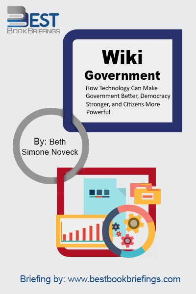 Collaborative democracy—government with the people—is a new vision of governance in the digital age.Wiki Government explains how to translate the vision into reality. Beth Simone Noveck draws on her experience in creating Peer-to-Patent, the federal government's first social networking initiative, to show how technology can connect the expertise of the many